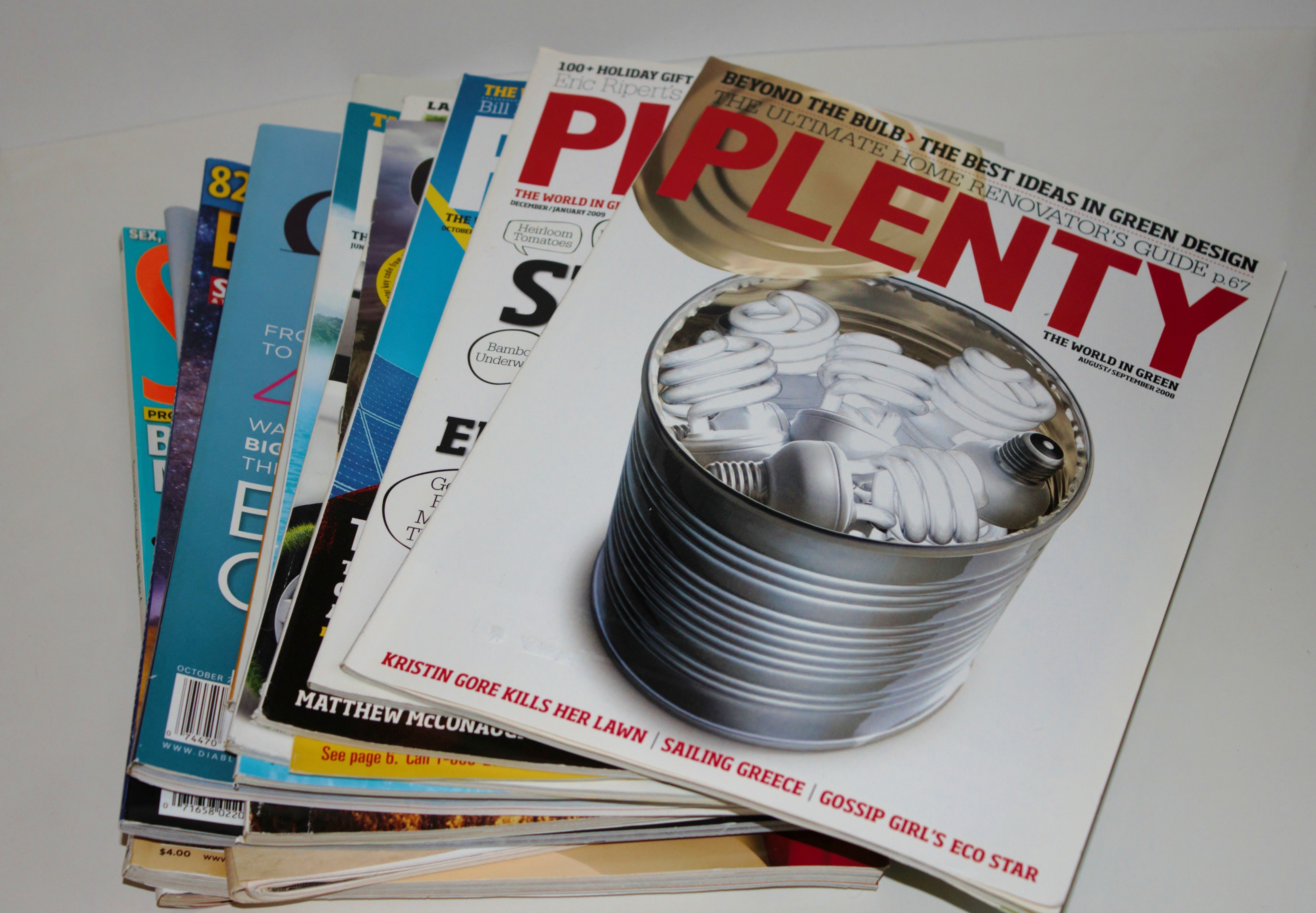Are magazines recyclable yes good green habits for How to recycle old magazines