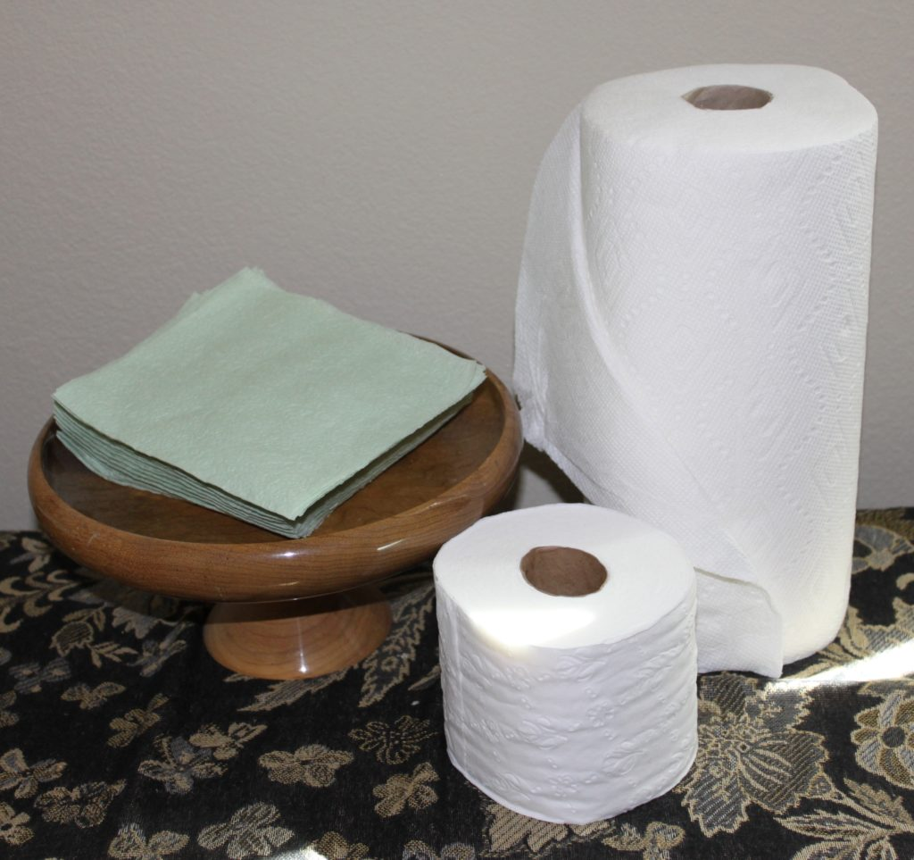 When To Recycle Paper Towels And Napkins Good Green Habits
